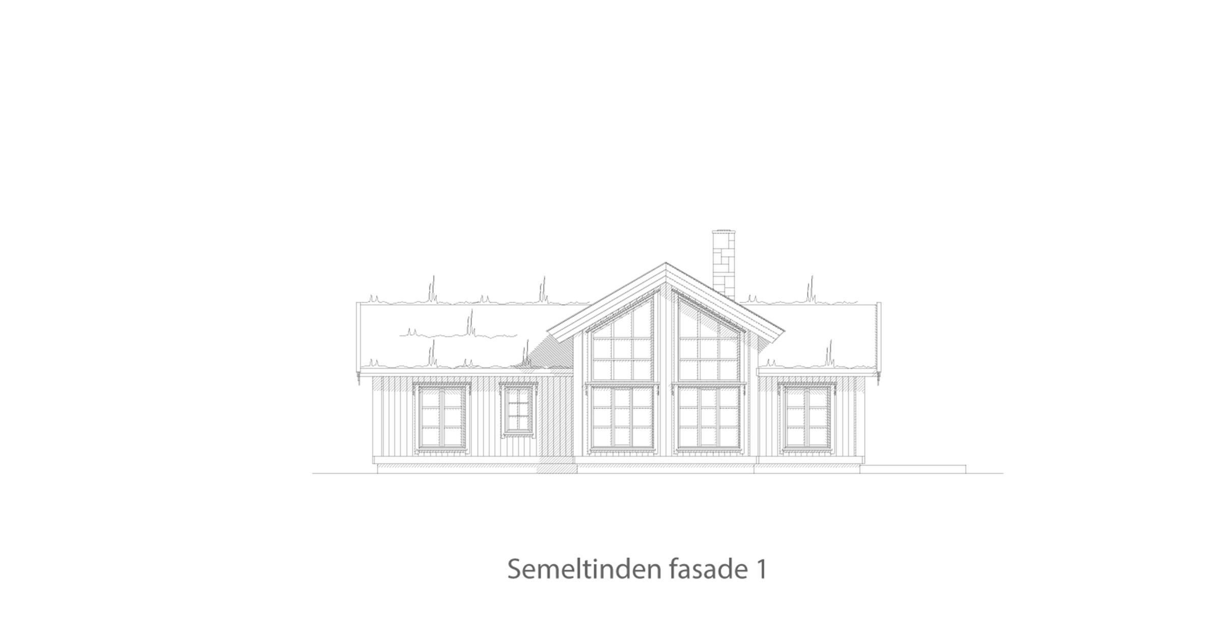 Semeltinden fasade 1