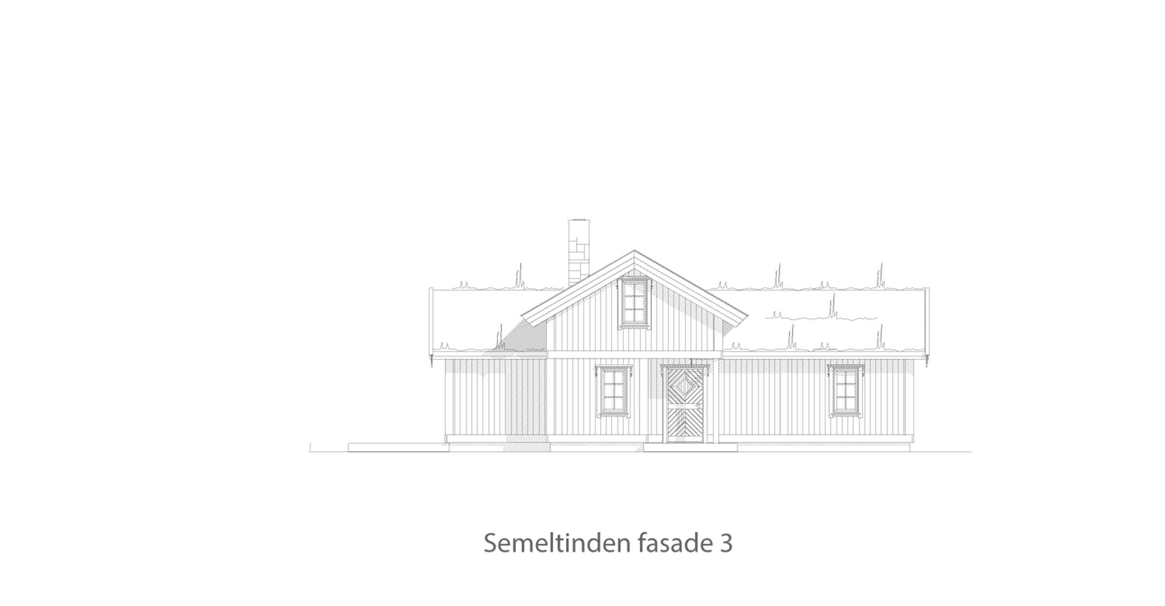 Semeltinden fasade 3