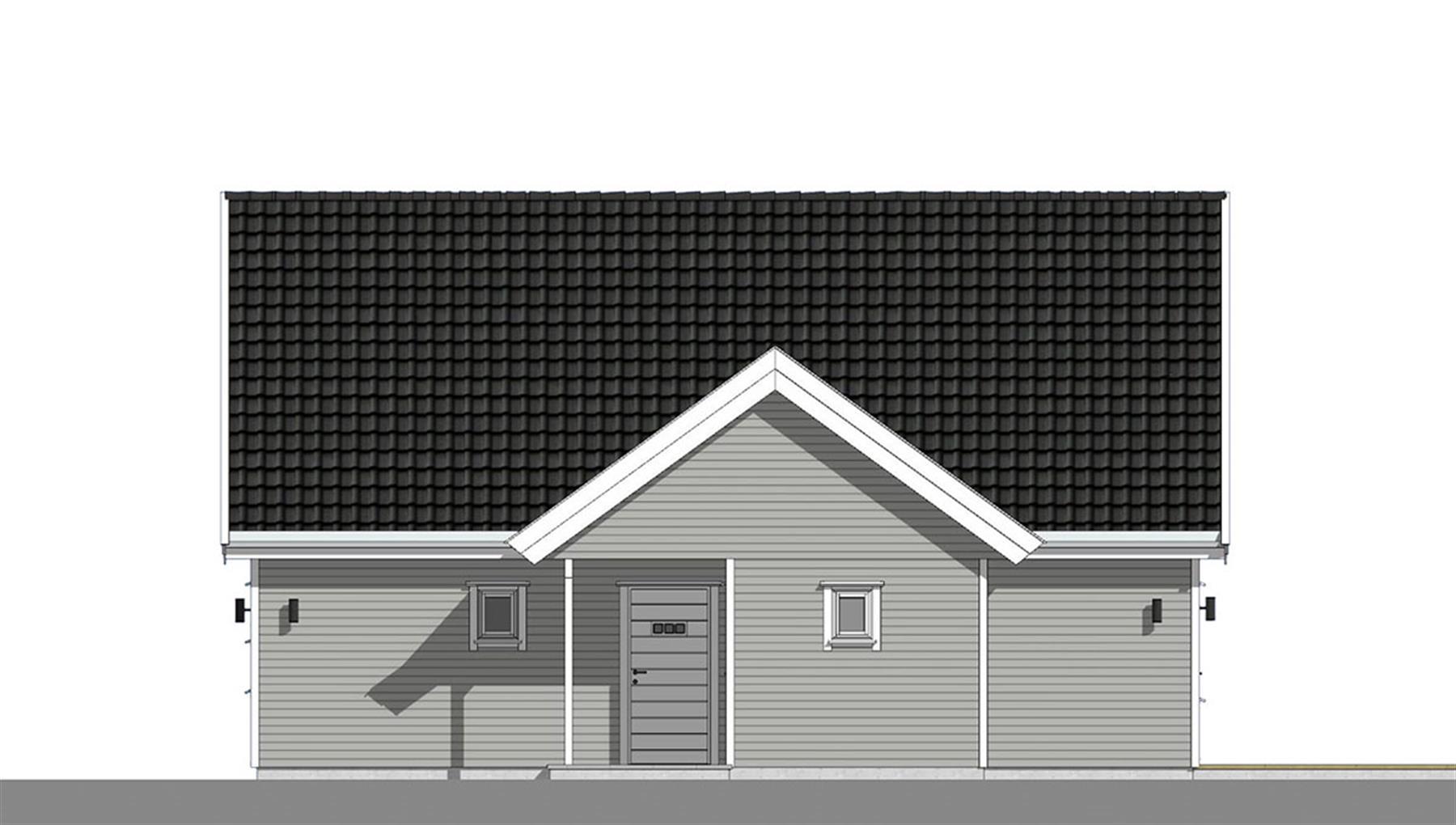 Sildemåke fasade 1