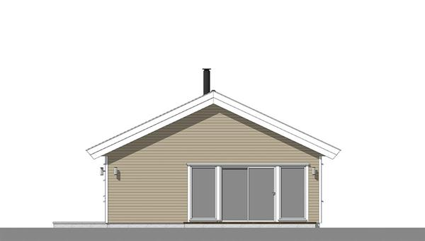 Smålom fasade 2