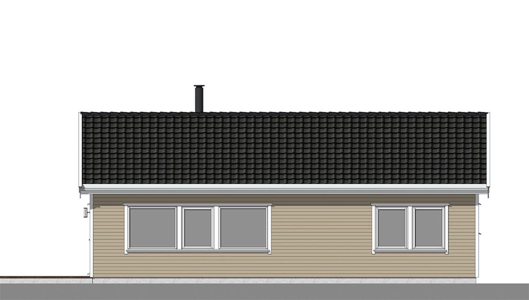 Smålom fasade 3