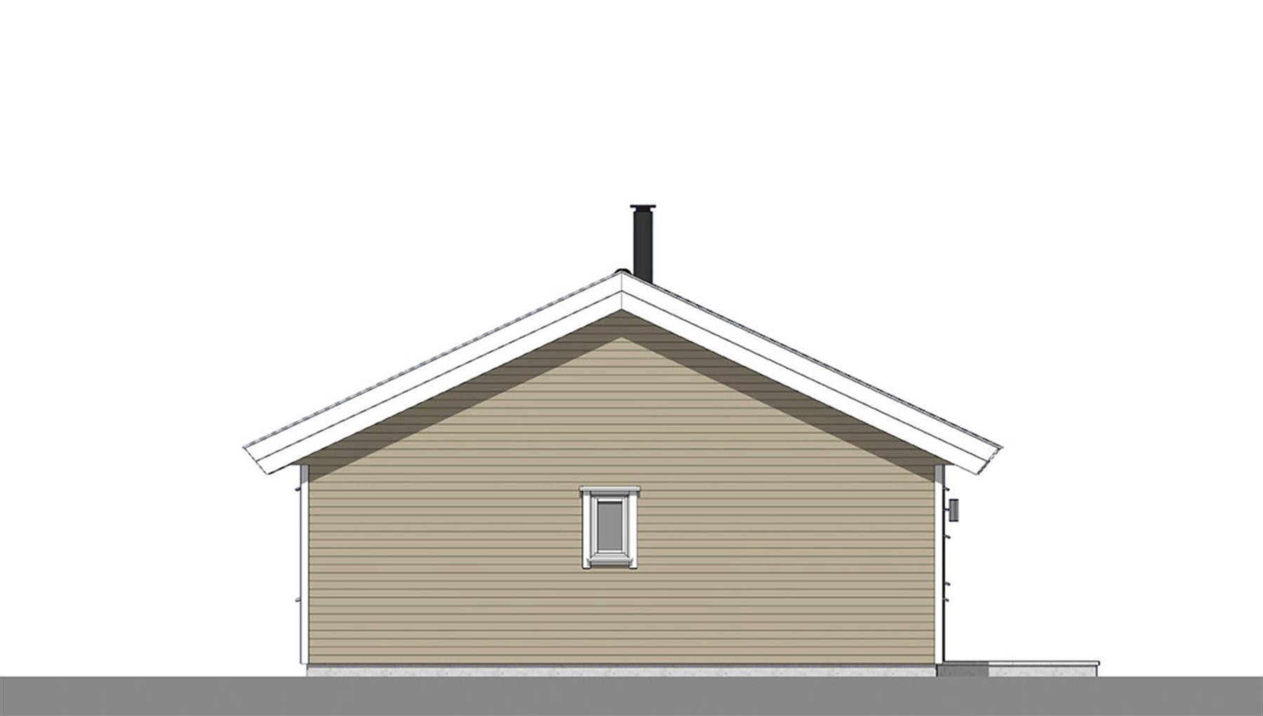 Smålom fasade 4