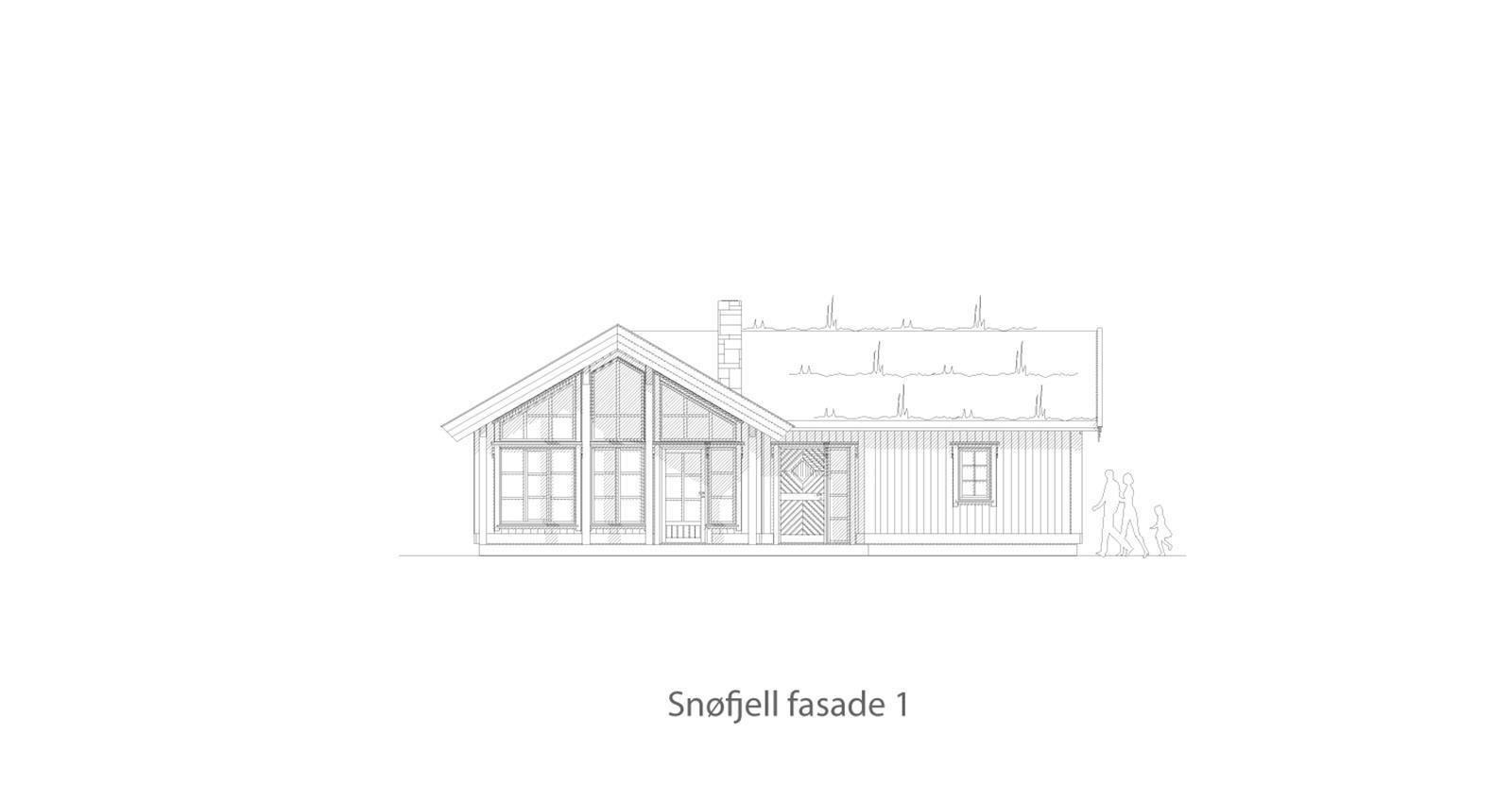 Snøfjell fasade 1