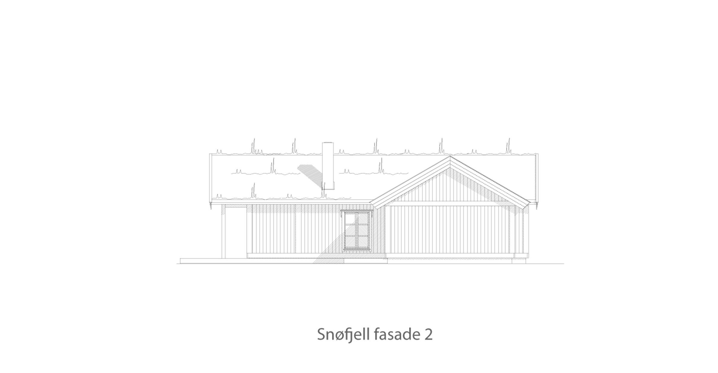 Snøfjell fasade 2