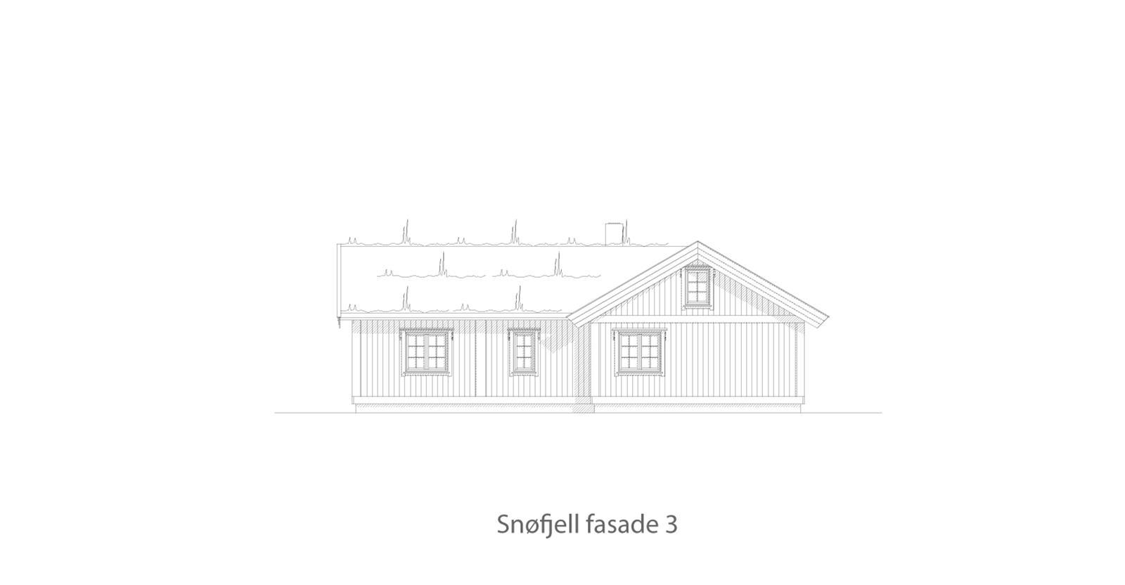 Snøfjell fasade 3