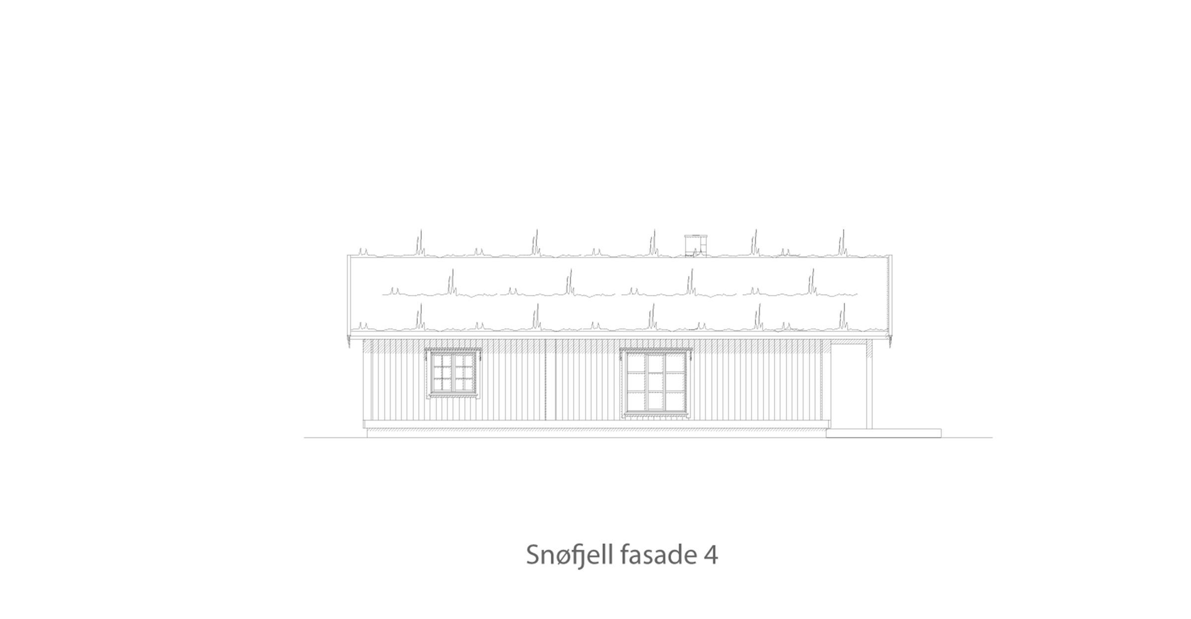 Snøfjell fasade 4