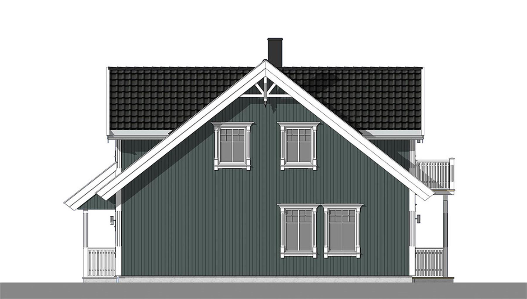 Sognefjord fasade 2