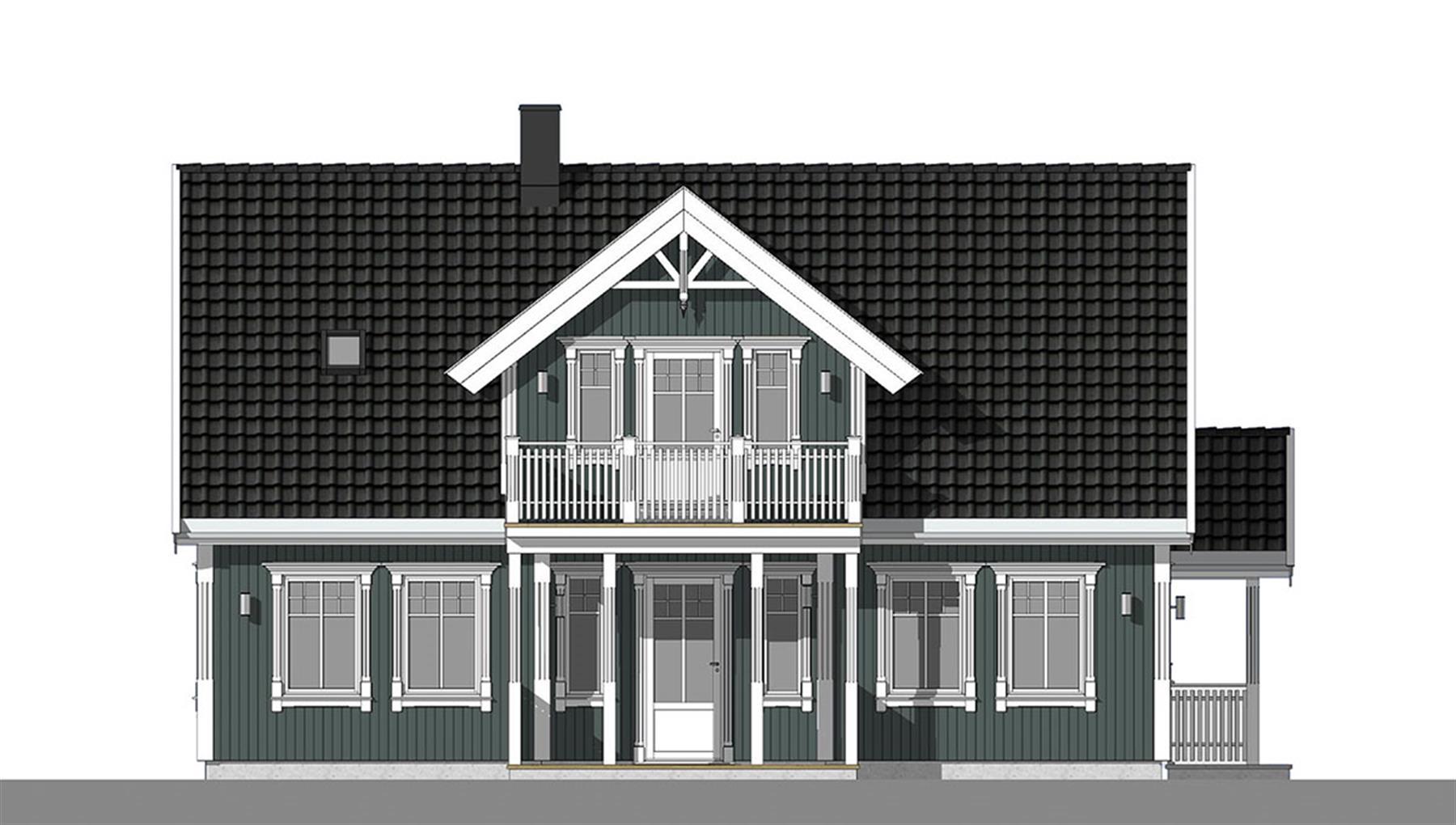 Sognefjord fasade 3