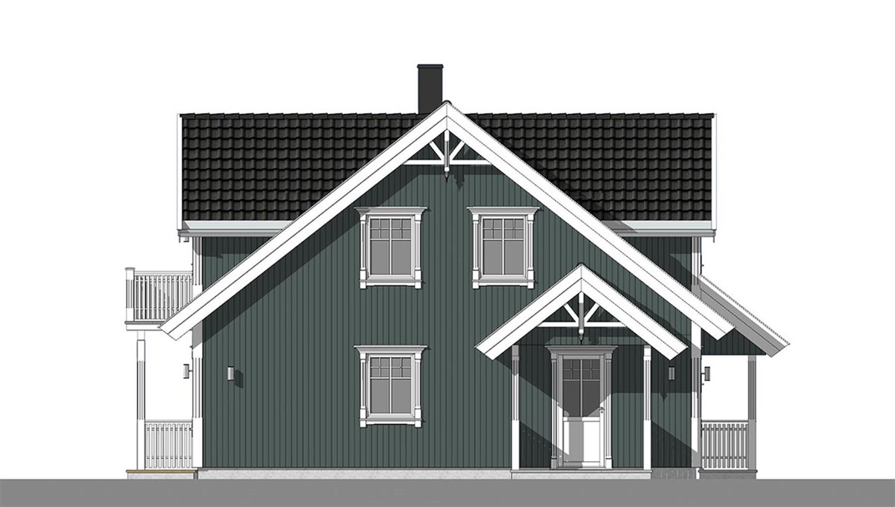 Sognefjord fasade 4