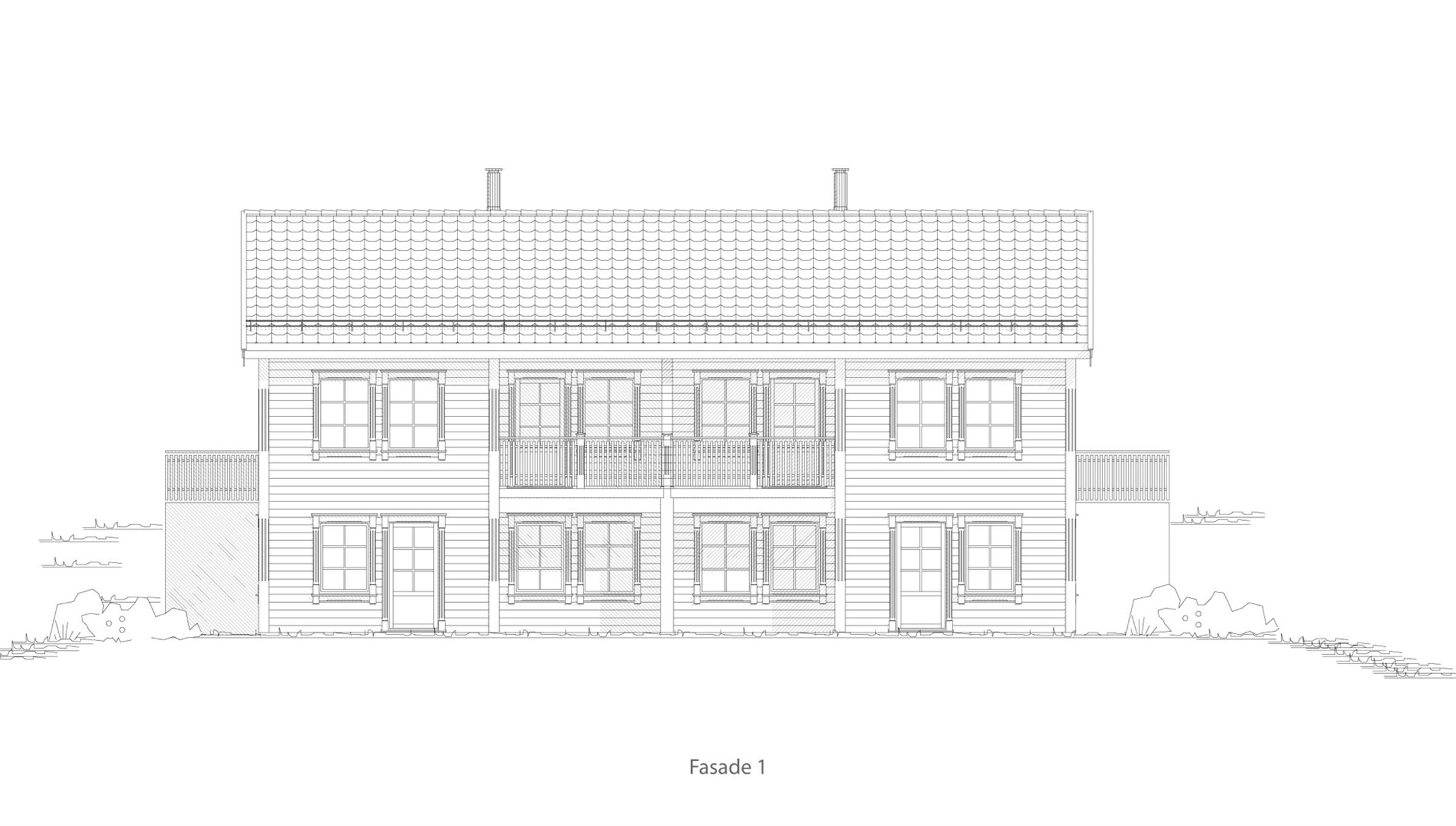 Sortland fasade 1