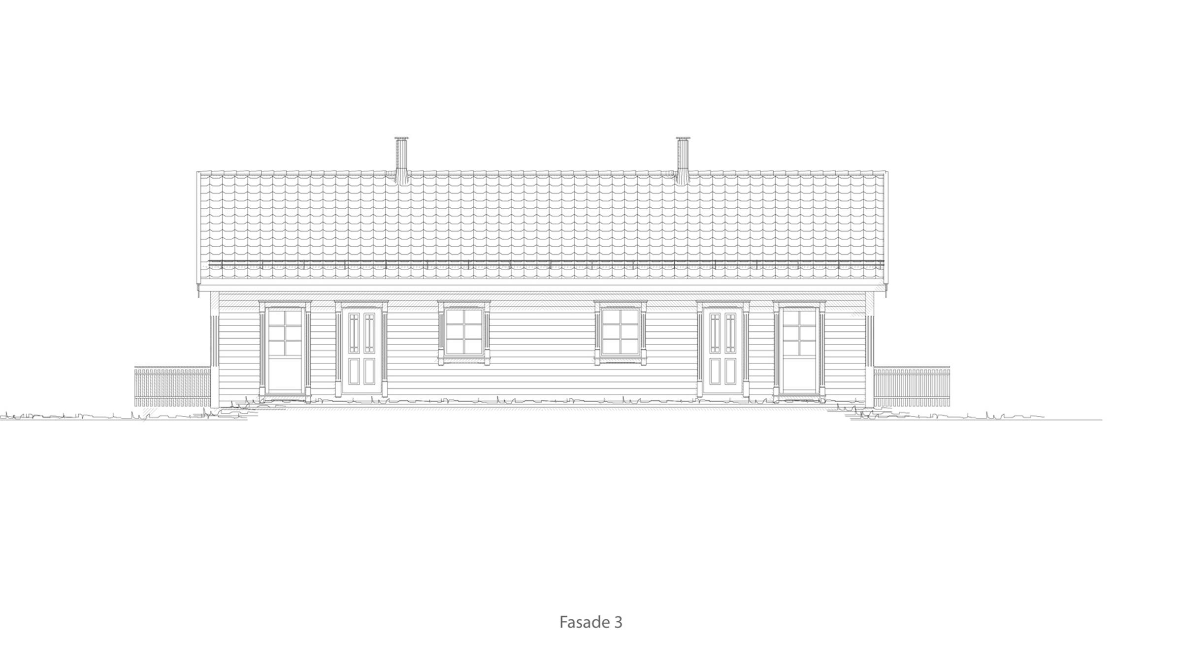 Sortland fasade 3