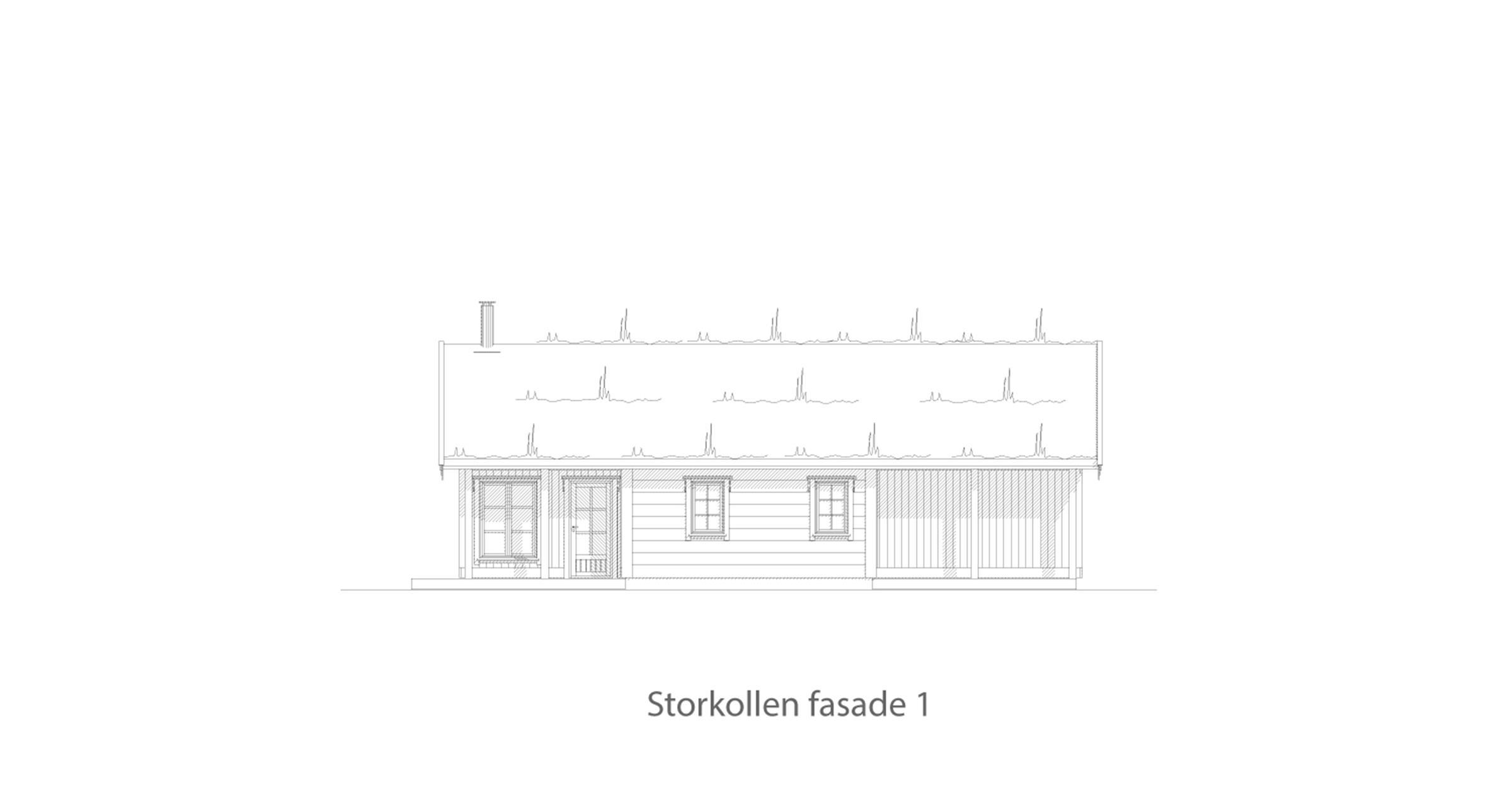 Storkollen fasade 1