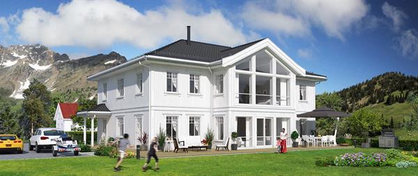 Hus 1 Norge Herregårds - serien Tanafjord eksteriør