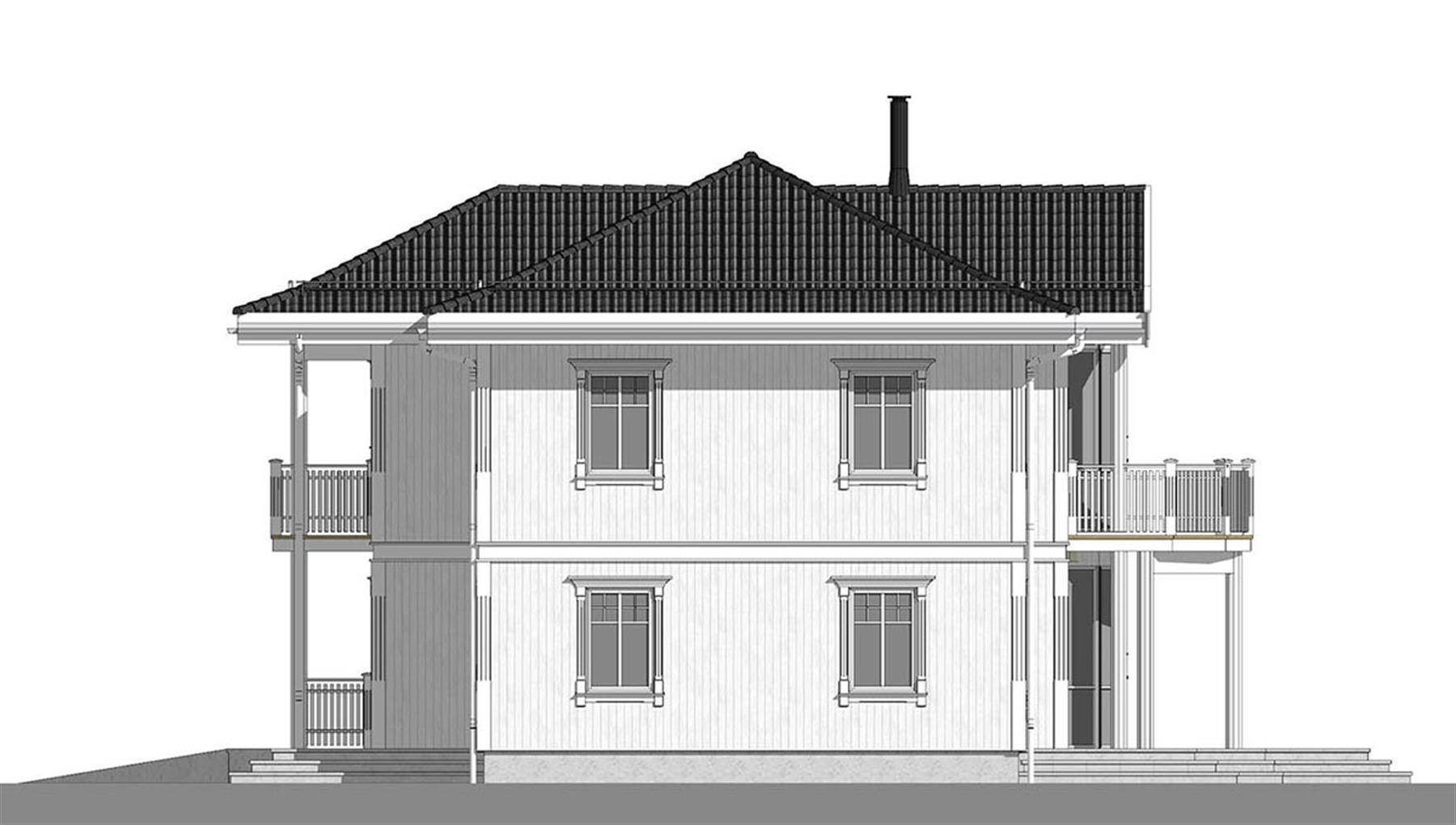 Tingvollfjord fasade 2
