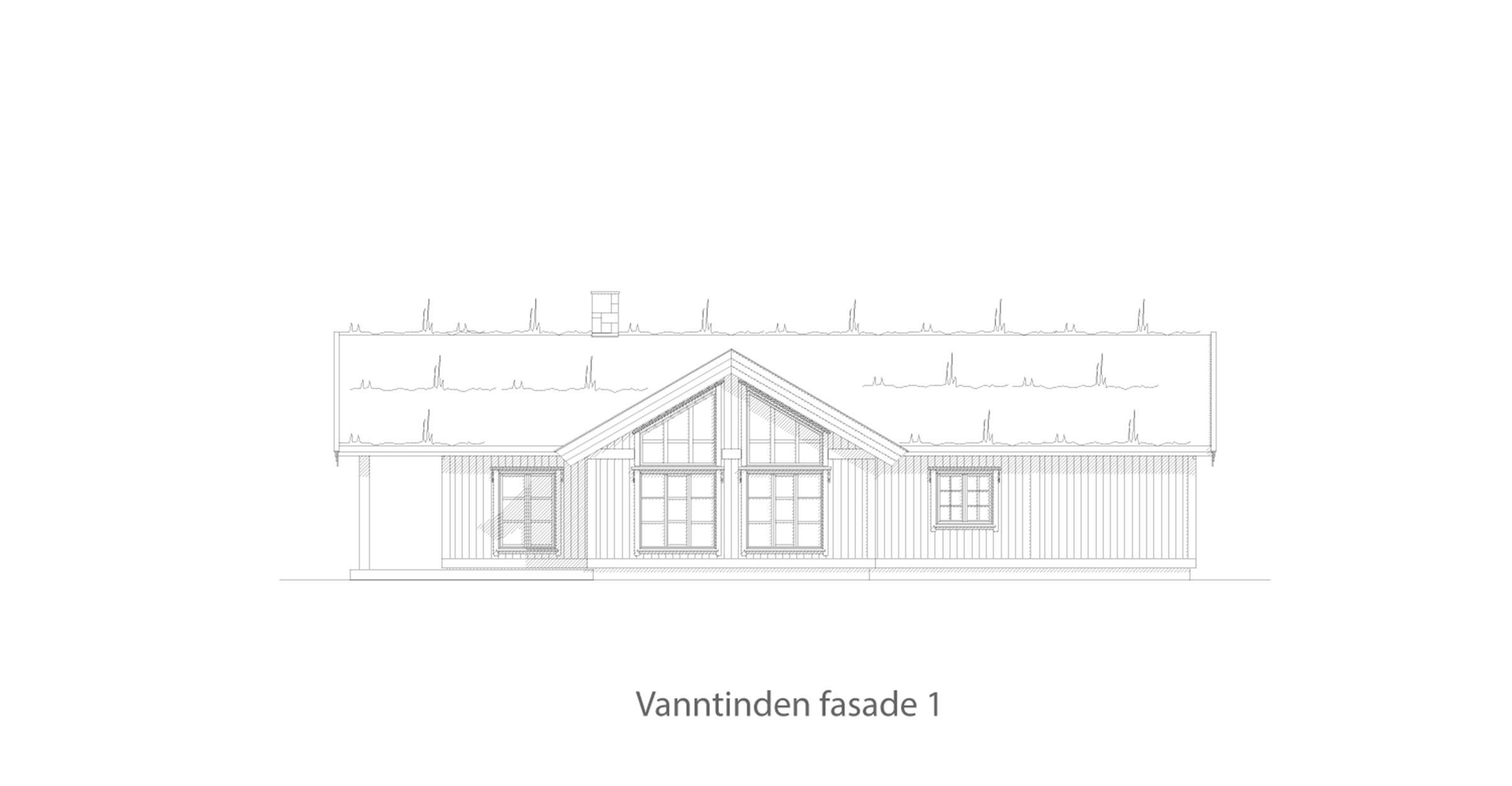 Vanntinden fasade 1