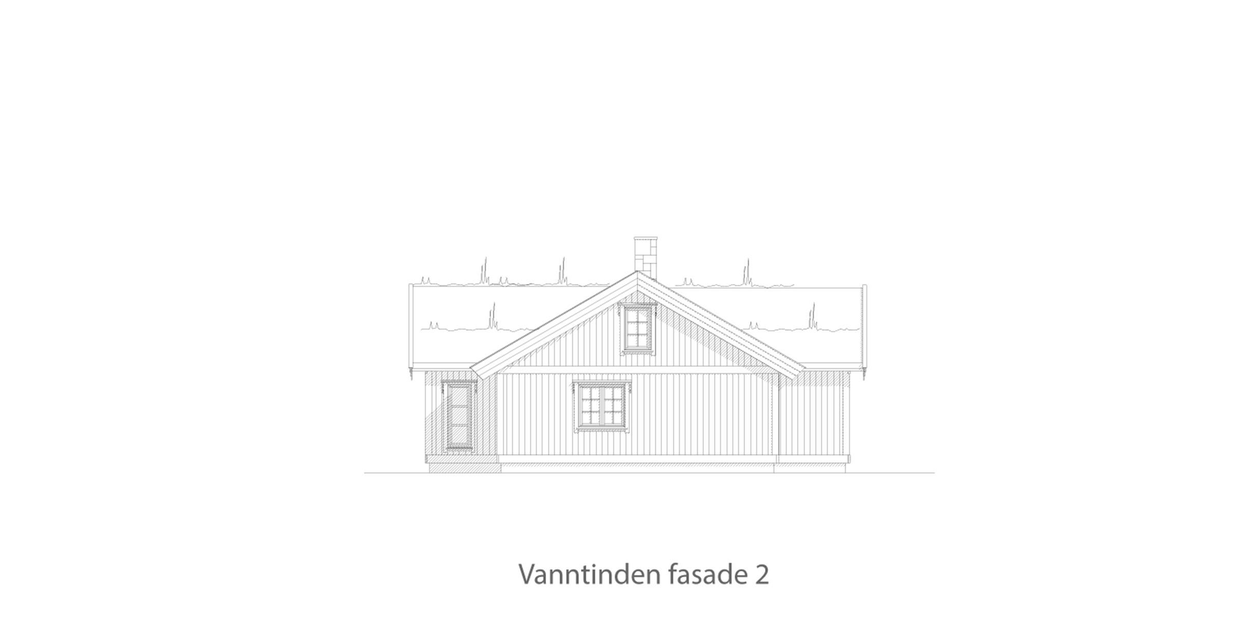 Vanntinden fasade 2