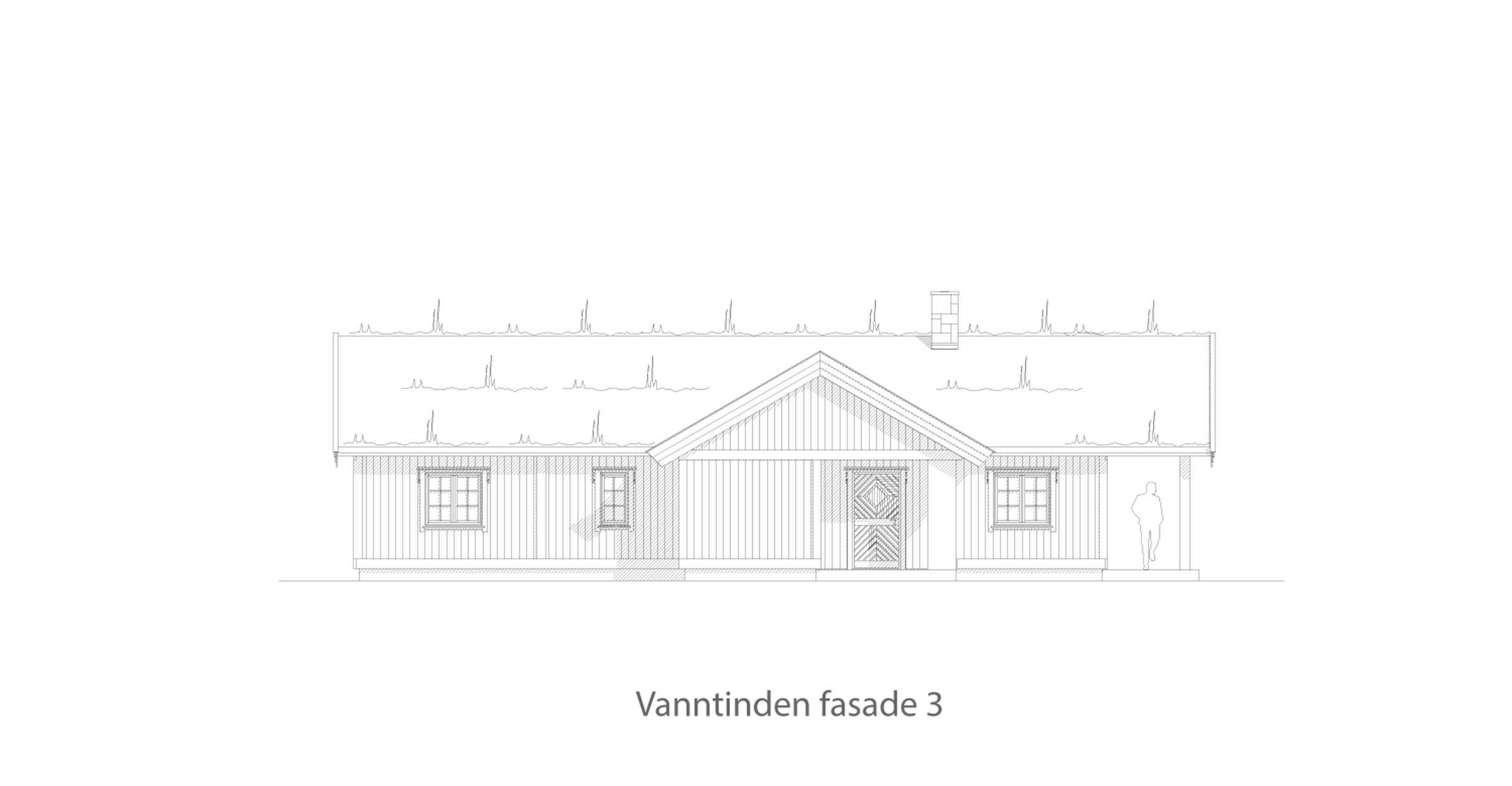 Vanntinden fasade 3