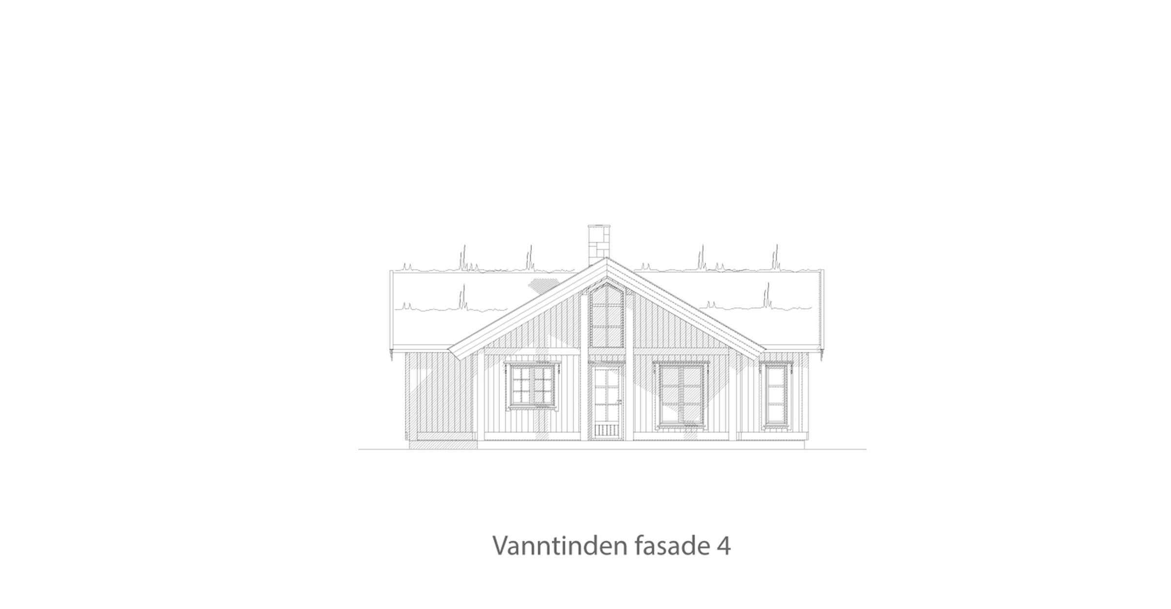 Vanntinden fasade 4