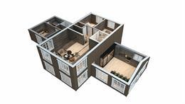 Veotinden 3D plan