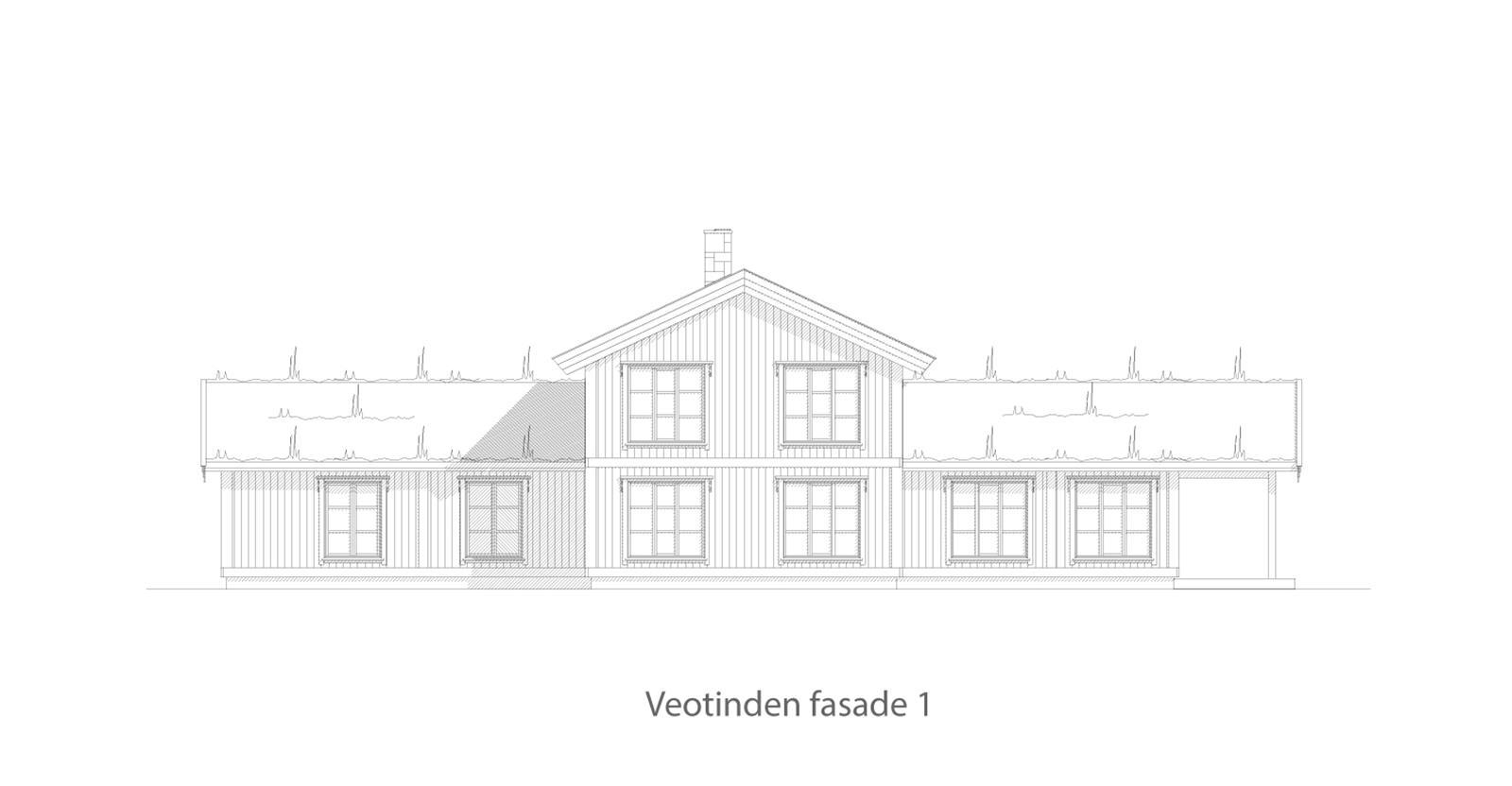 Veotinden fasade 1