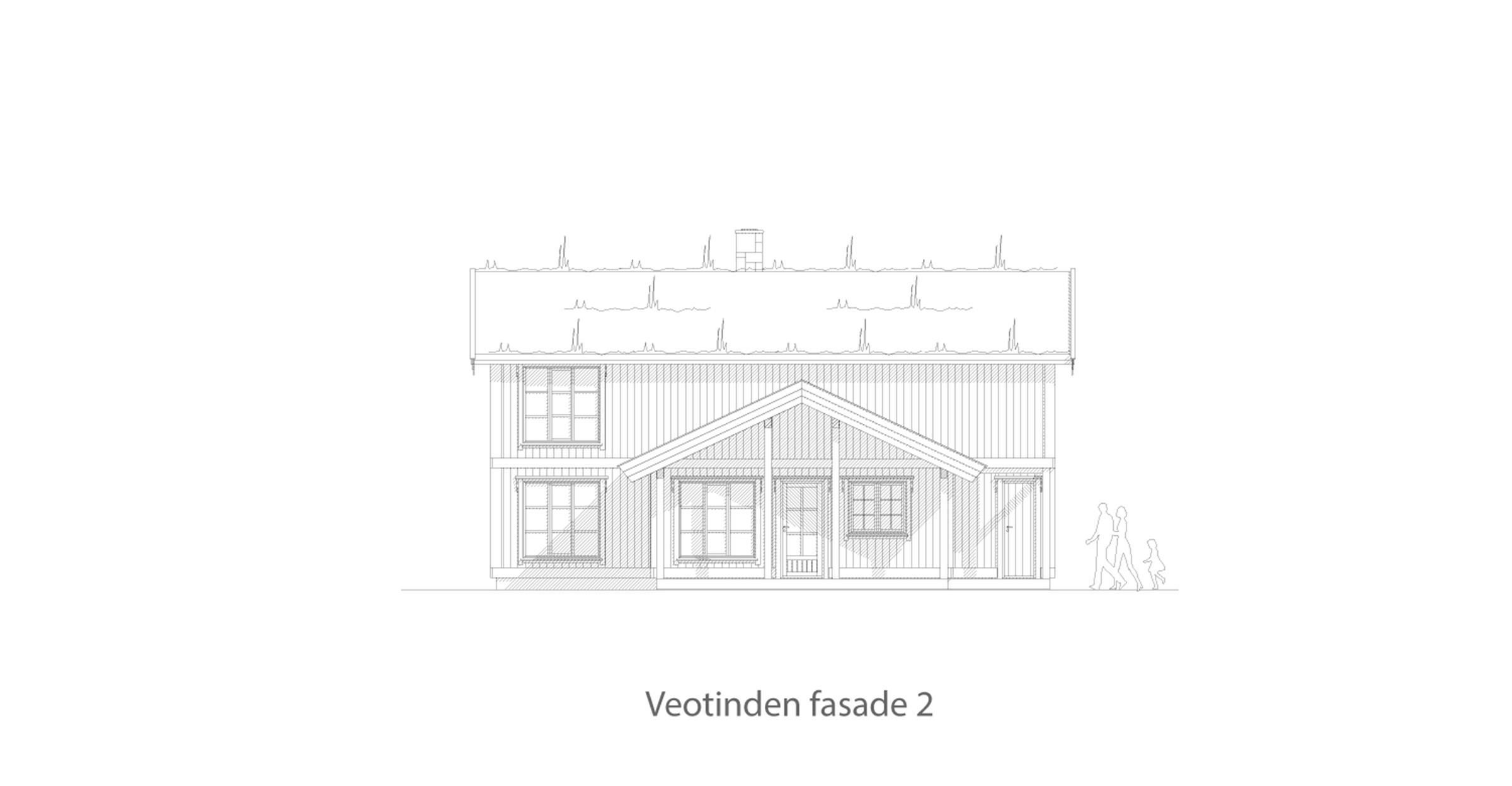Veotinden fasade 2
