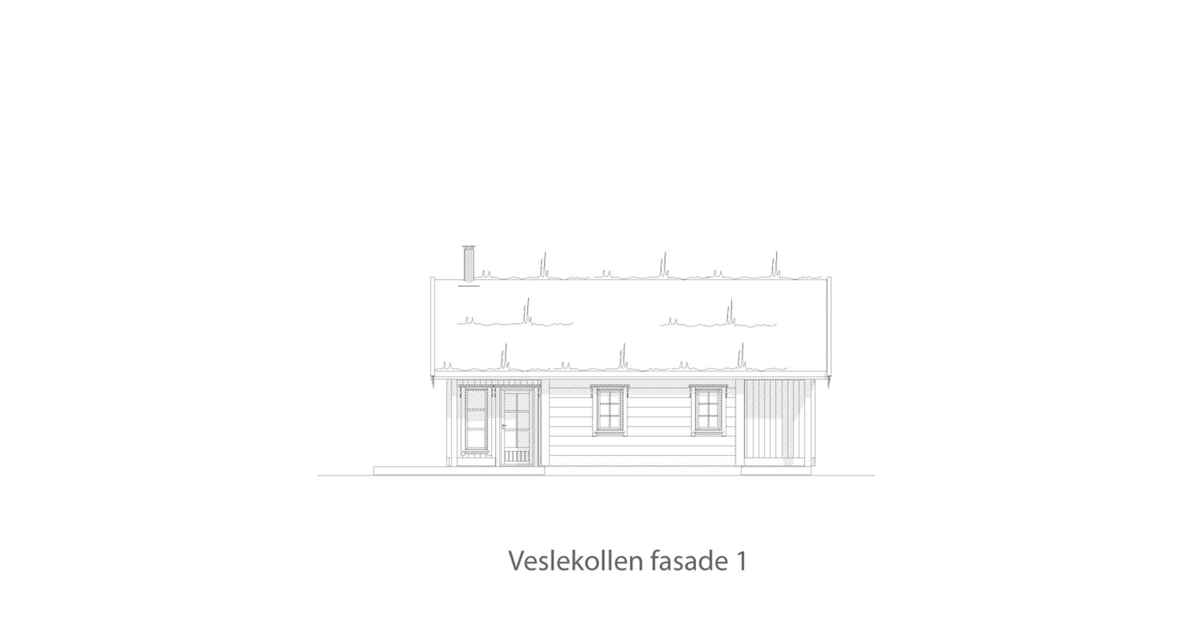 Veslekollen fasade 1