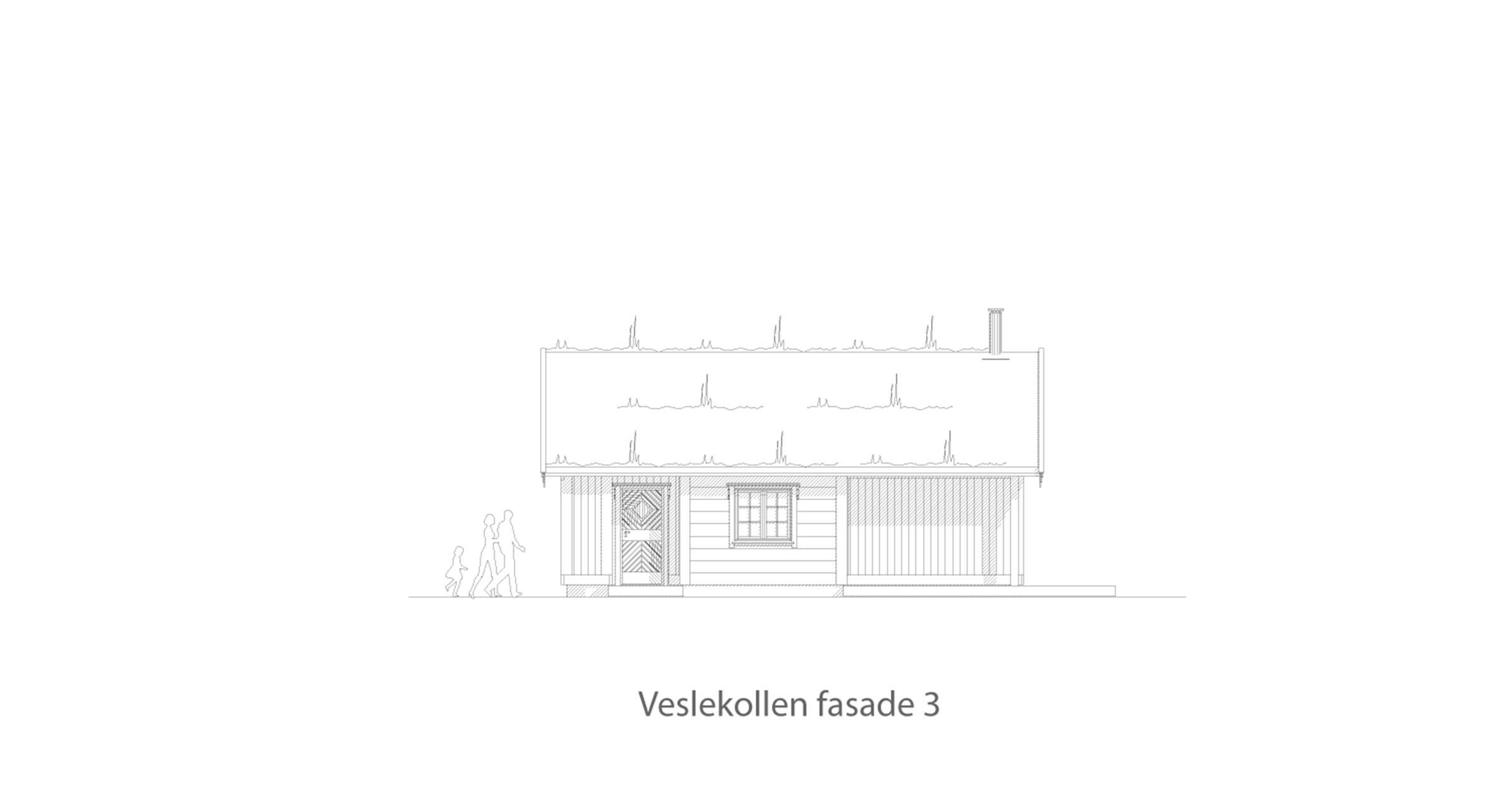 Veslekollen fasade 3