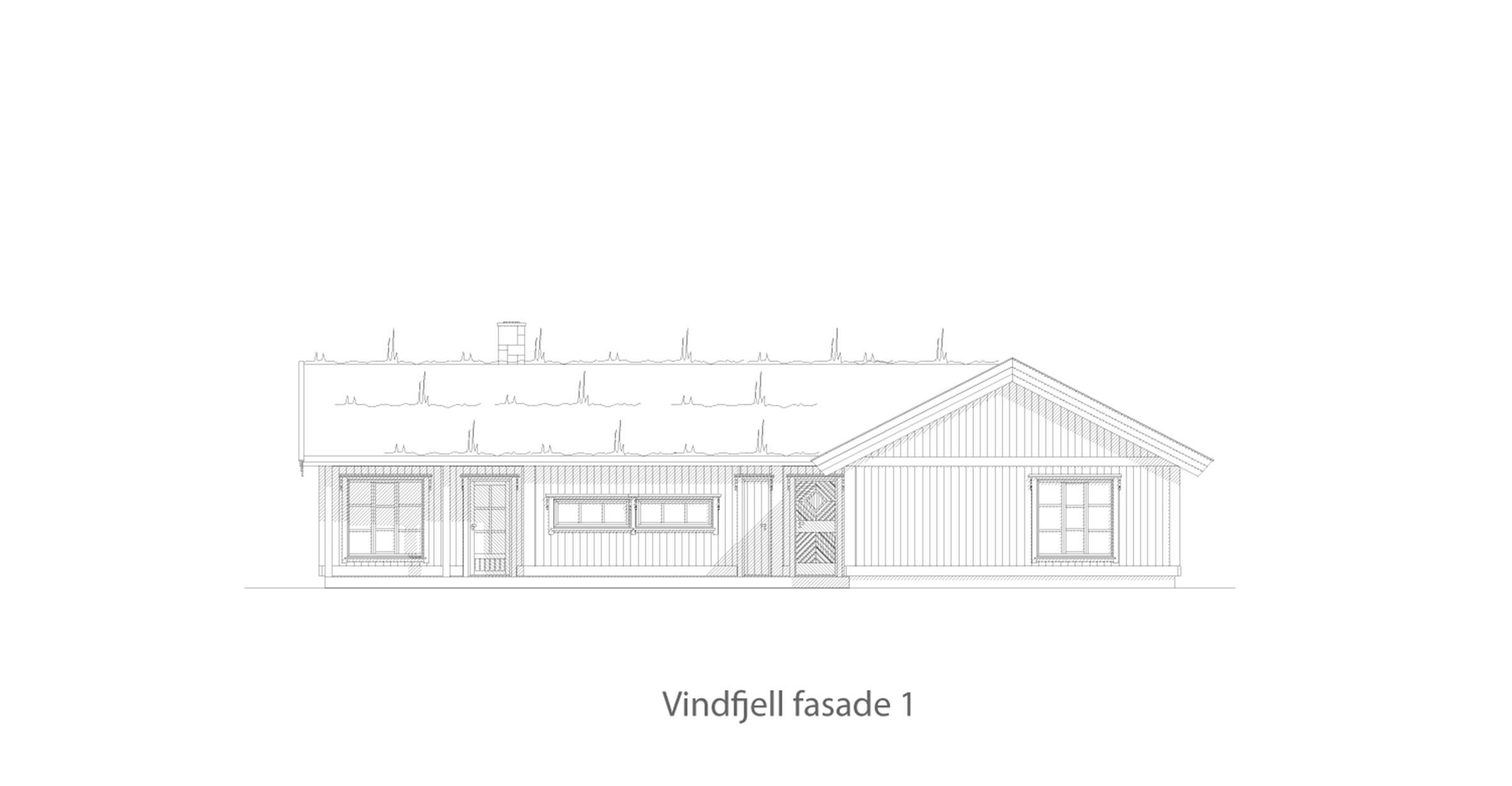 Vindfjell fasade 1