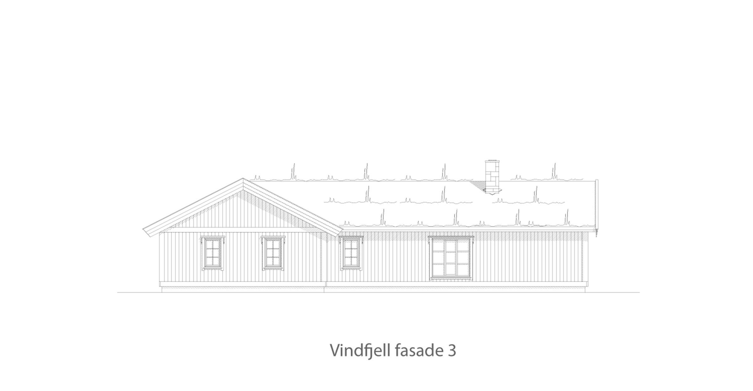 Vindfjell fasade 3