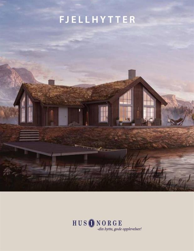 Hyttebrosjyre Hus1 Norge